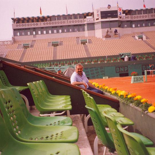 Roland Garros'un tarihi merkez kortu 1928 yılından beri bir çok unutulmaz maça ev sahipliği yaptı