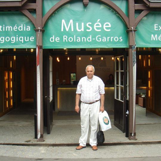 Roland Garros 2005, bir çok anıyı hatırlatan iyi planlanmış bir tenis müzesi