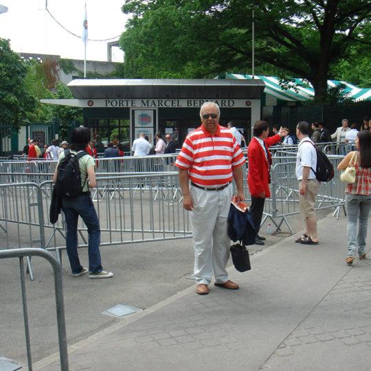 Roland Garros'da ana seyirci girişi