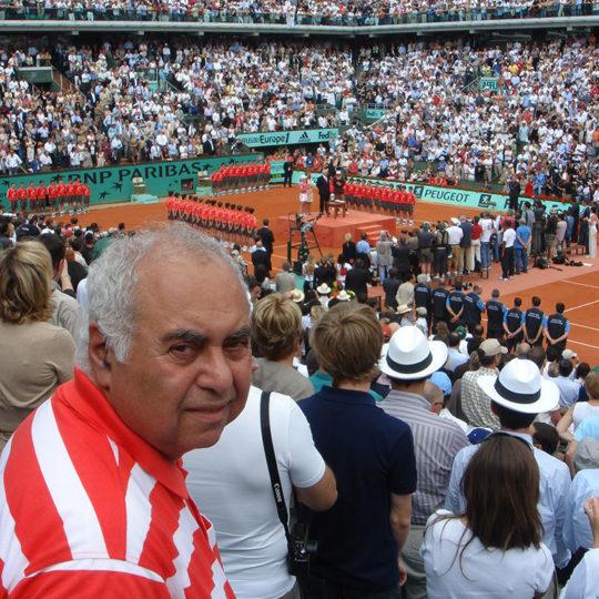 Roland Garros 2007, Justine Henin'ın (BEL) 2007 yılında kazandığı dördüncü ve son şampiyonluğun kupa seremonisi