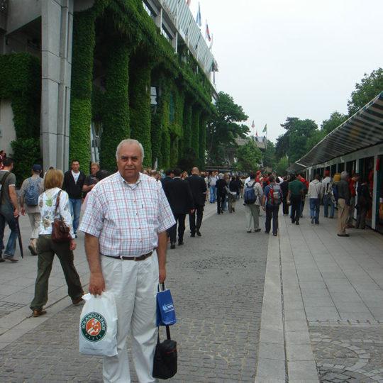 Roland Garros merkez kortun dışı