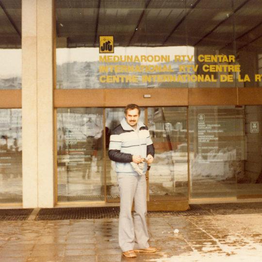 1984 Sarajevo Olimpiyat Oyunları (YUG) Uluslararası Radyo TV merkezi