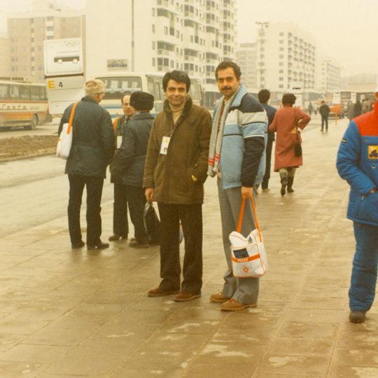 1984 Sarajevo Olimpiyat Oyunları (YUG) Ertan Yüce ile