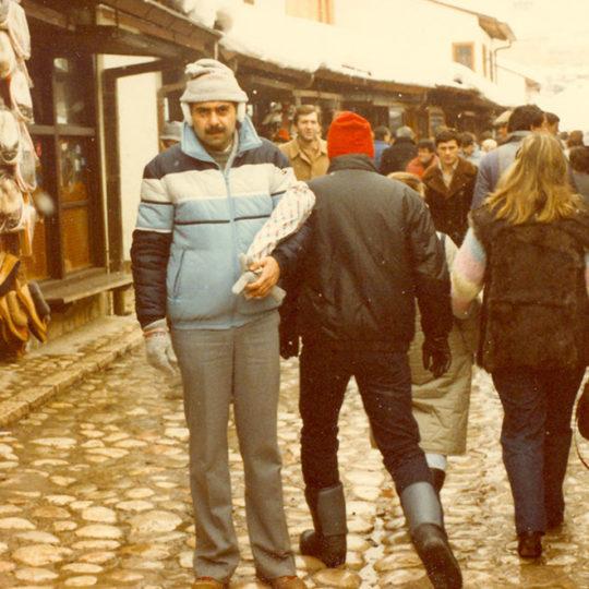 1984 Sarajevo Olimpiyat Oyunları (YUG) Sarajevo şehir merkezi
