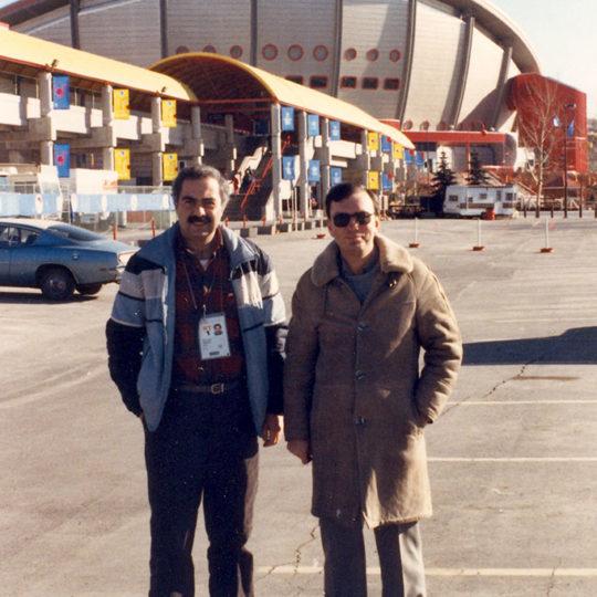 1988 Calgary Olimpiyat Oyunları (CAN) Kenan Onuk ile