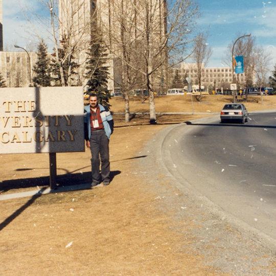 1988 Calgary Olimpiyat Oyunları (CAN) Calgary üniversitesi