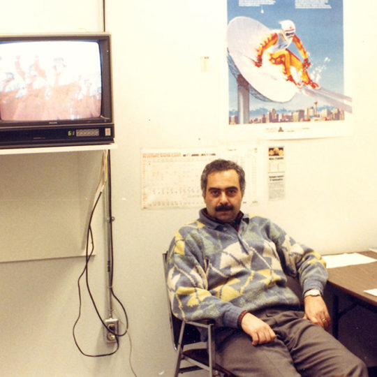 1988 Calgary Olimpiyat Oyunları (CAN) TRT ofisi