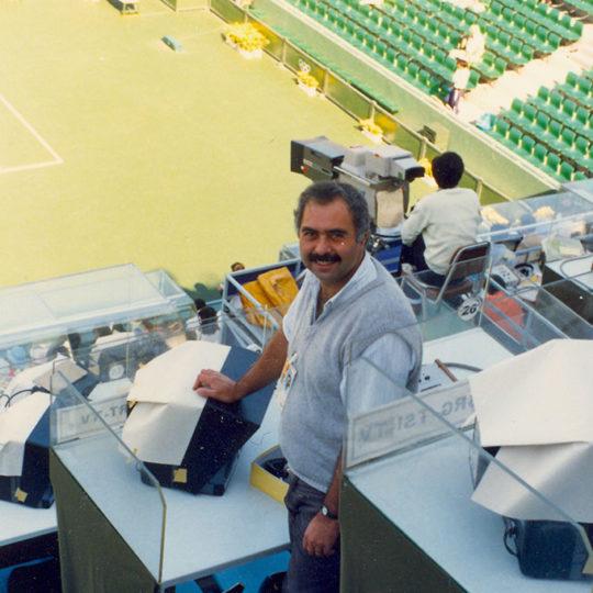 1988 Seoul Olimpiyat Oyunları (KOR) Tenis Merkez Kort Anlatım yeri