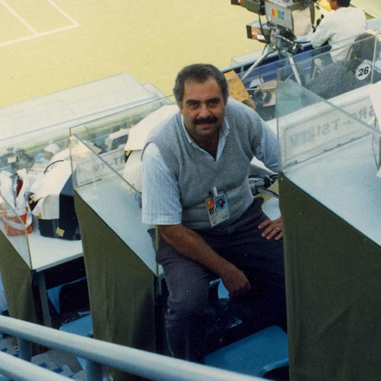 1988 Seoul Olimpiyat Oyunları (KOR) Tenis Merkez Kortu anlatım yerleri