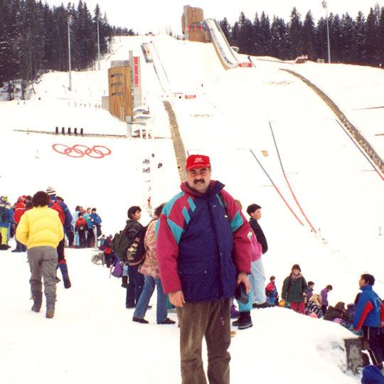 1992 Albertville Olimpiyat Oyunları (FRA) Kayakla atlama platformu