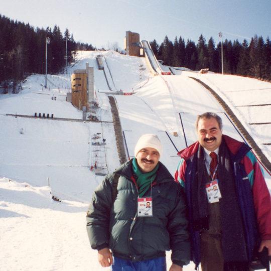 1992 Albertville Olimpiyat Oyunları (FRA) Hüseyin Başaran ile