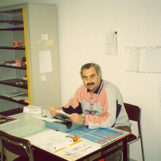 1992 Albertville Olimpiyat Oyunları (FRA) TRT ofisi