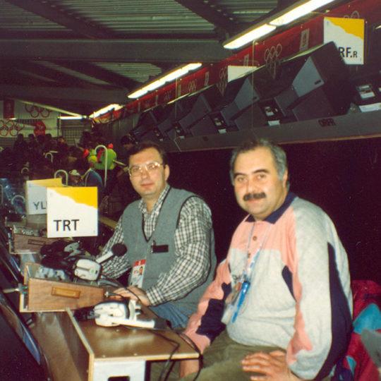1992 Albertville Olimpiyat Oyunları (FRA) Kenan Onuk ile