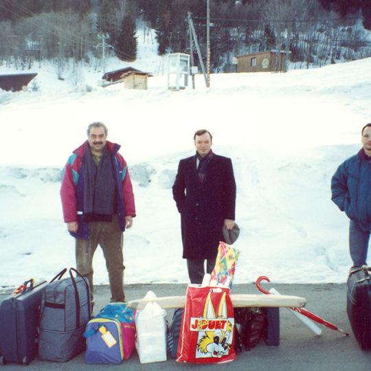1992 Albertville Olimpiyat Oyunları (FRA) Dönüş yolculuğu