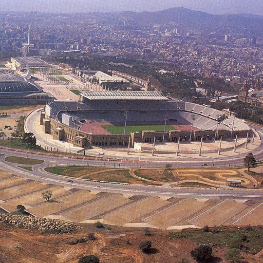 1992 Barcelona Olimpiyat Oyunları (İSP), Bir çok yarışmanın yapıldığı Montjuic bölgesi