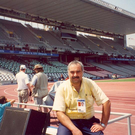 1992 Barcelona Olimpiyat Oyunları (İSP), Atletizm yarışmaları da Montjuic'deki bu stadyumda yapıldı
