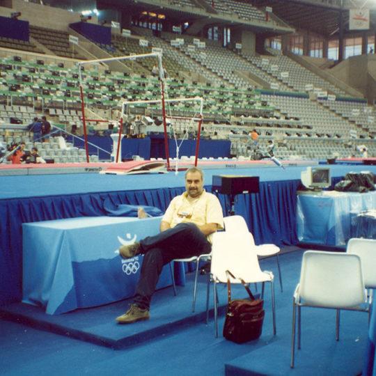 1992 Barcelona Olimpiyat Oyunları (İSP), Sant Jordi salonunun içerden görünüşü