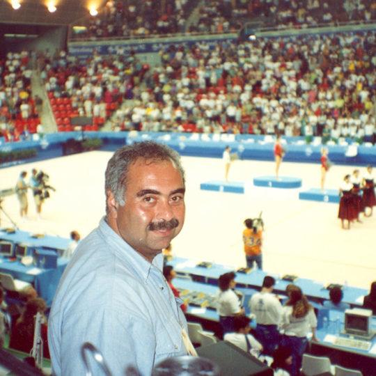 1992 Barcelona Olimpiyat Oyunları (İSP), Bayanlar cimnastikte madalya töreni