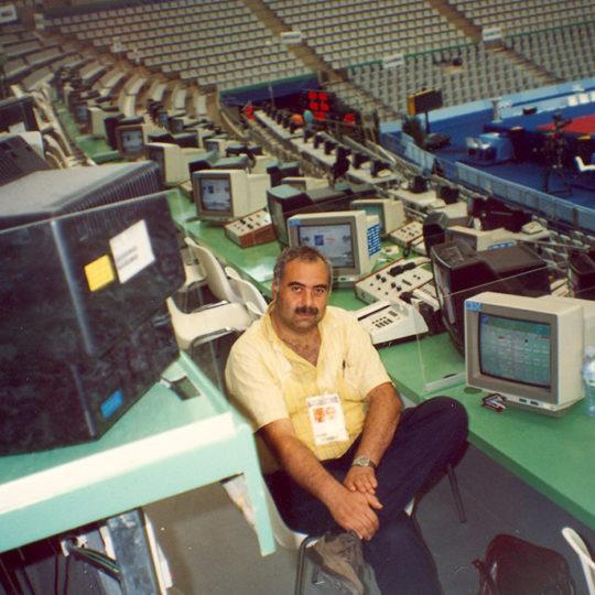 1992 Barcelona Olimpiyat Oyunları (İSP), Cimnastikte televizyon anlatım pozisyonları