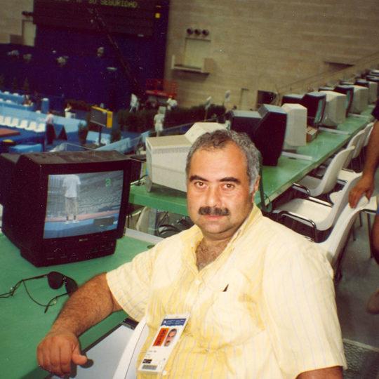 1992 Barcelona Olimpiyat Oyunları (İSP), Cimnastik yarışmalarında mola anı
