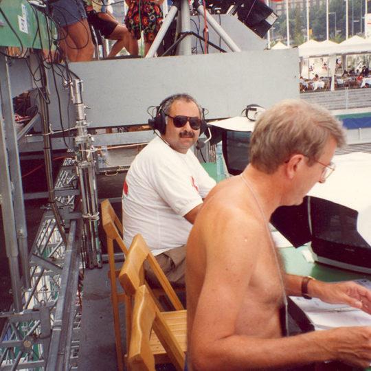 1992 Barcelona Olimpiyat Oyunları (İSP), Tenis anlatım pozisyonu