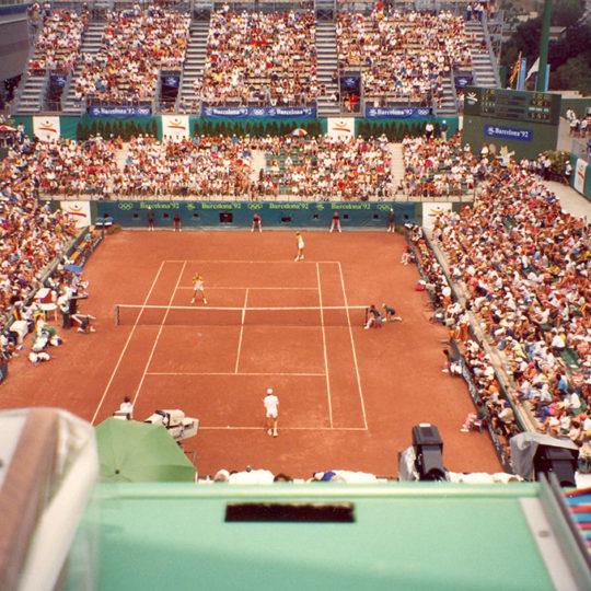 1992 Barcelona Olimpiyat Oyunları (İSP), Teniste olimpiyat mücadelesi