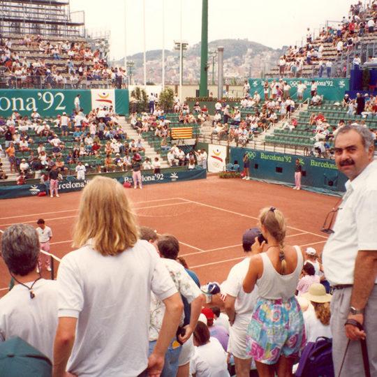 1992 Barcelona Olimpiyat Oyunları (İSP), Tenisten bir görünüm