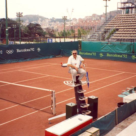1992 Barcelona Olimpiyat Oyunları (İSP), Fahri İkiler sandalye hakemi