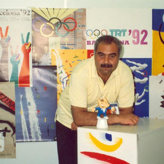 1992 Barcelona Olimpiyat Oyunları (İSP), TRT stüdyosu