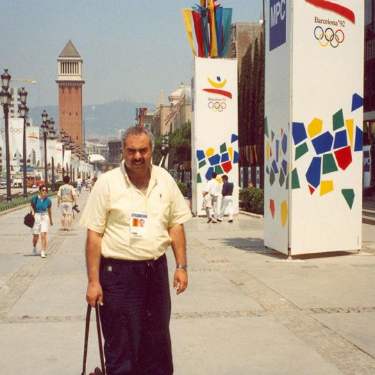 1992 Barcelona Olimpiyat Oyunları (İSP), Basın merkezine giden yol