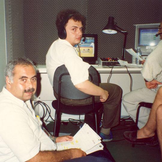 1992 Barcelona Olimpiyat Oyunları (İSP), Günün özetleri seslendiriliyor
