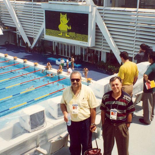 1992 Barcelona Olimpiyat Oyunları (İSP), Yönetmen Sami Elekon'la
