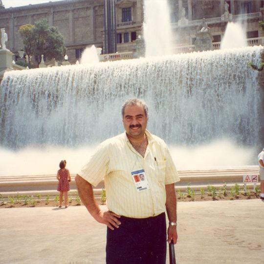 1992 Barcelona Olimpiyat Oyunları (İSP), Montjuic bölgesi