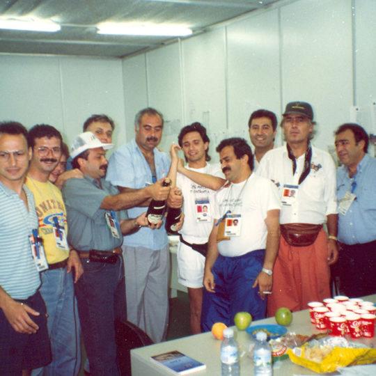 1992 Barcelona Olimpiyat Oyunları (İSP), Oyunların bitişini kutlama