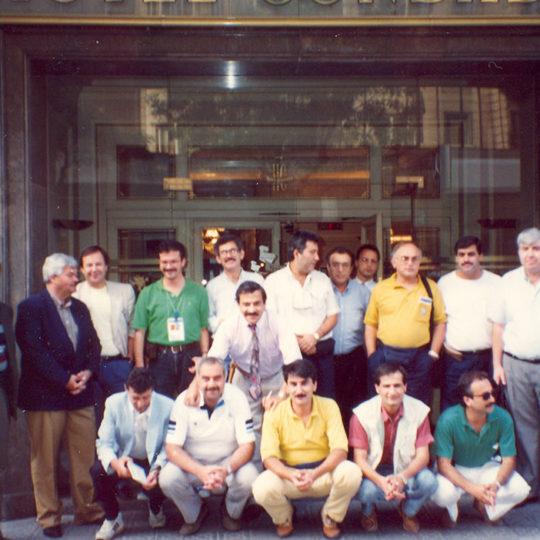1992 Barcelona Olimpiyat Oyunları (İSP), TRT ekibi