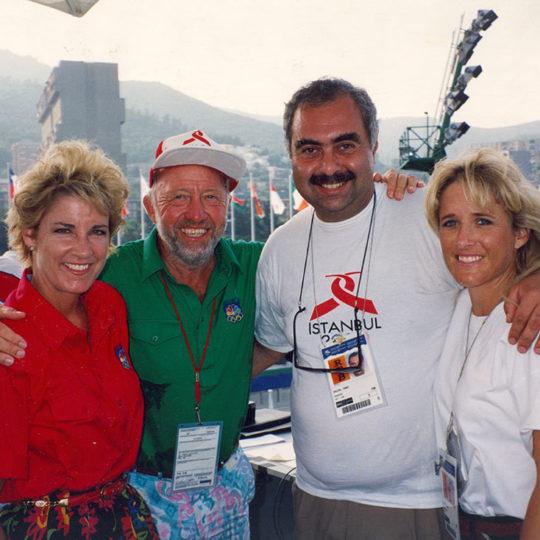 1992 Barcelona Olimpiyat Oyunları (İSP), Chris Evert, Bud Collins, Fahri İkiler, Tracy Austin