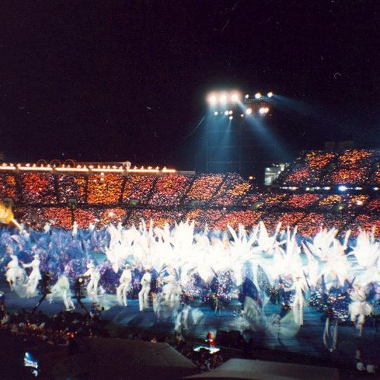 1996 Atlanta Olimpiyat Oyunları (ABD) Açılış töreni