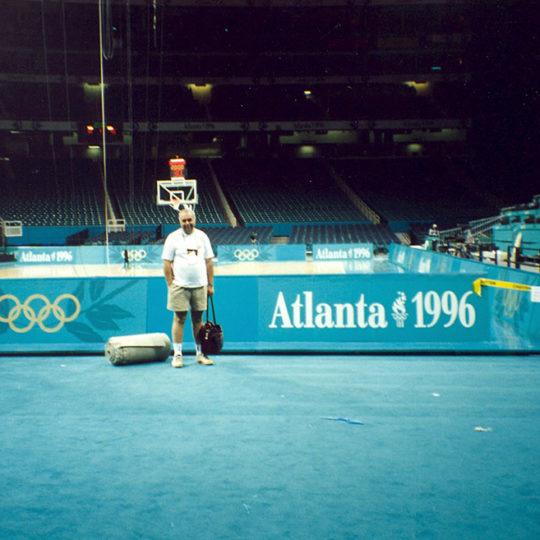 1996 Atlanta Olimpiyat Oyunları (ABD) Cimnastik salonu