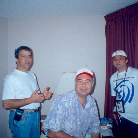 1996 Atlanta Olimpiyat Oyunları (ABD) Hüseyin Başaran ve Levent Özçelik ile