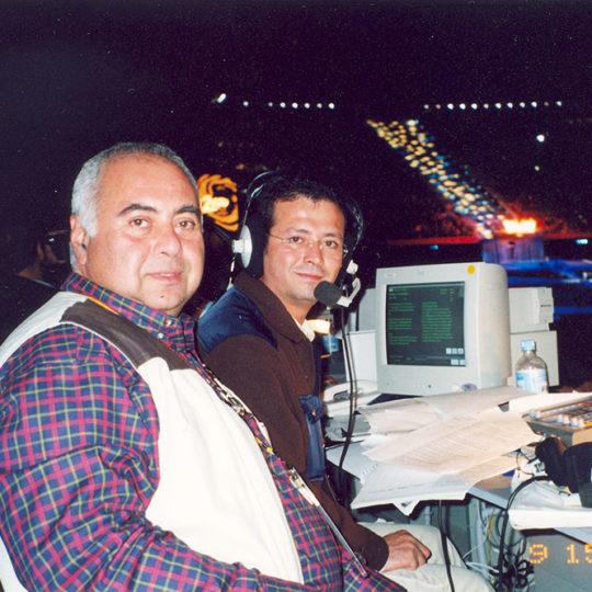 2000 Sydney Olimpiyat Oyunları (AUS) Anlatım yerinde Güven Göktaş ile