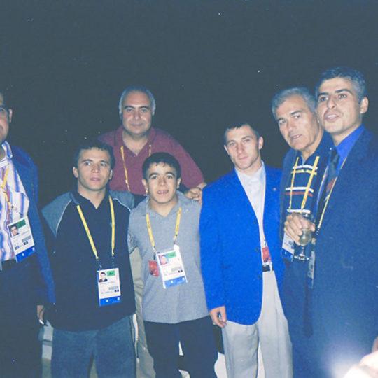 2000 Sydney Olimpiyat Oyunları (AUS) Naim Süleymanoğlu, Halil Mutlu, Ahmet Ayık ile