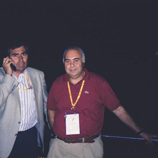 2000 Sydney Olimpiyat Oyunları (AUS) IOC Başkan Vekili, TMOK Başkanı, Prof. Uğur Erdener ile