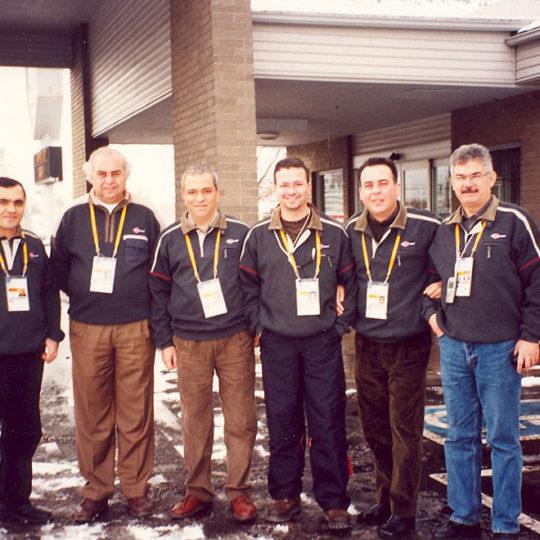2002 Salt Lake Olimpiyat Oyunları (ABD), TRT ekibi