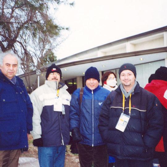 2002 Salt Lake Olimpiyat Oyunları (ABD), Fahri İkiler, Deniz Gücüyener, Zafer Akyol, Güven Göktaş