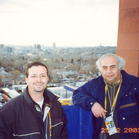 2002 Salt Lake Olimpiyat Oyunları (ABD), Güven Göktaş'la açılış töreninde