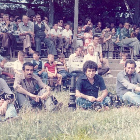 1979 Kırkpınar foto muhabiri arkadaşlar