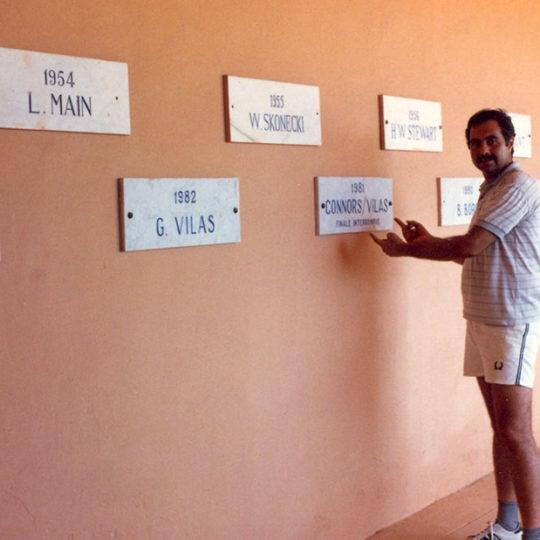 1983 Monte Carlo tenis kulübü – ATP Turnuvasını o yıla kadar kazananlar
