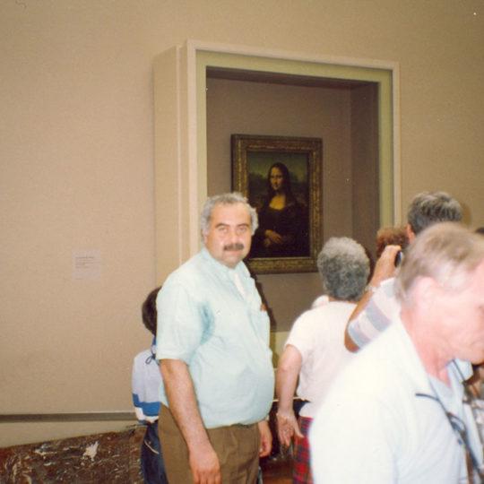 1994 Louvre Müzesi, ünlü Mona Lisa tablosu