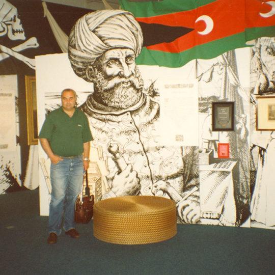 1996 Londra Deniz Müzesi - Barbaros Hayrettin köşesi