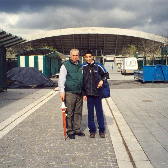 1998 Paris – Roland Garros Suzanne Lenglen kortu sezon dışında